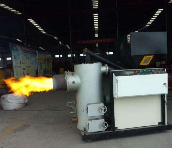 燃烧机中生物质颗粒燃料应用